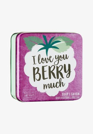BERRY MUCH SOAP IN A TIN 100 G - Soap bar - -