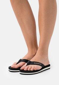 Napapijri - STICK - T-bar sandals - black - 0