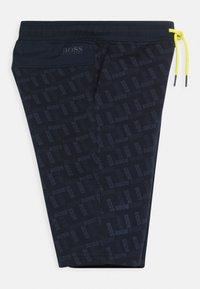 BOSS Kidswear - BERMUDA - Teplákové kalhoty - navy - 2