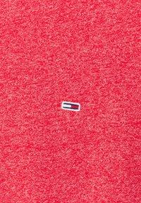 Tommy Jeans - JASPE NECK - T-shirt - bas - deep crimson - 2