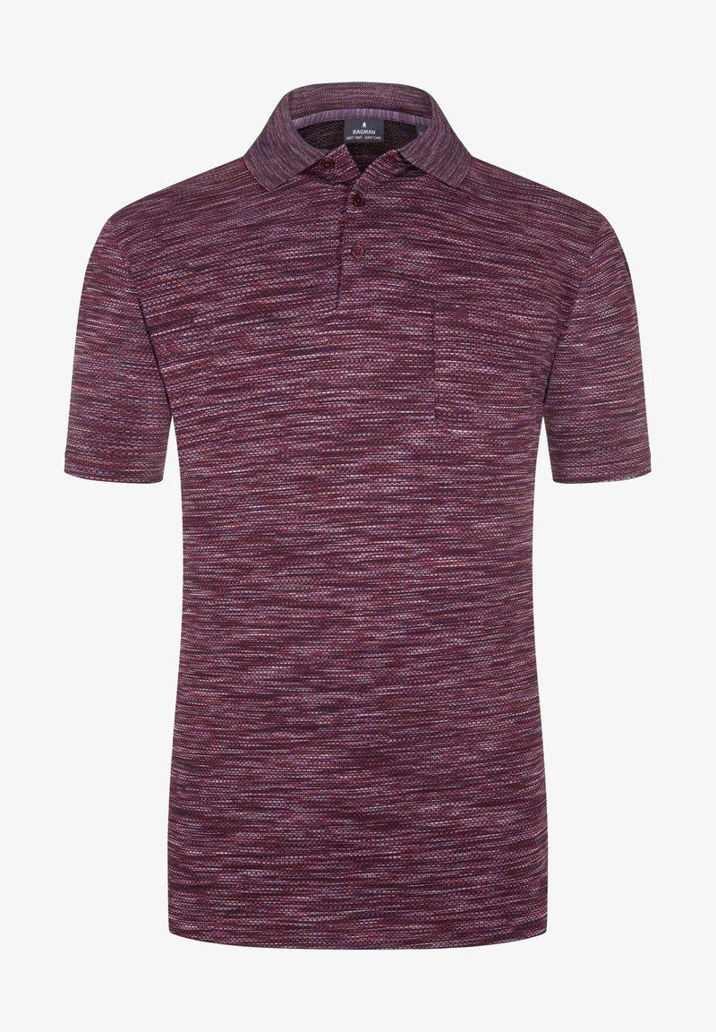 Ragman - Polo shirt - red