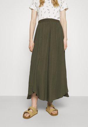 SKIRT - Áčková sukně - grape leaf green