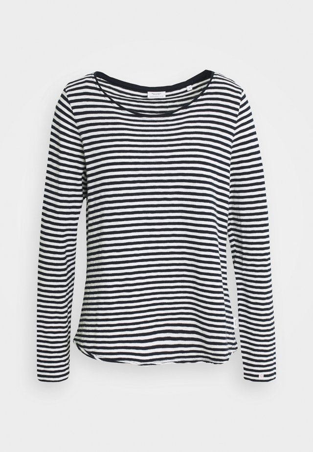 LONG SLEEVE CREW NECK - Long sleeved top - multi/scandinavian blue