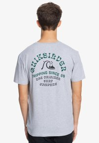 Quiksilver - Print T-shirt - micro chip heather - 2