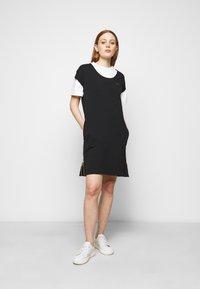 Barbour International - PACE DRESS - Sukienka z dżerseju - black - 1