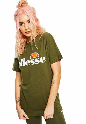 ALBANY  - Print T-shirt - grün