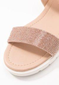 Head over Heels by Dune - NIIAH - Sandales - rose gold - 2