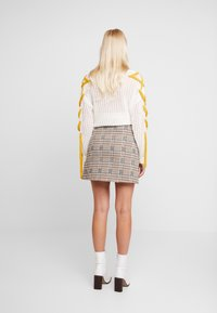 Dorothy Perkins - CHECK - A-line skirt - multi-coloured - 2