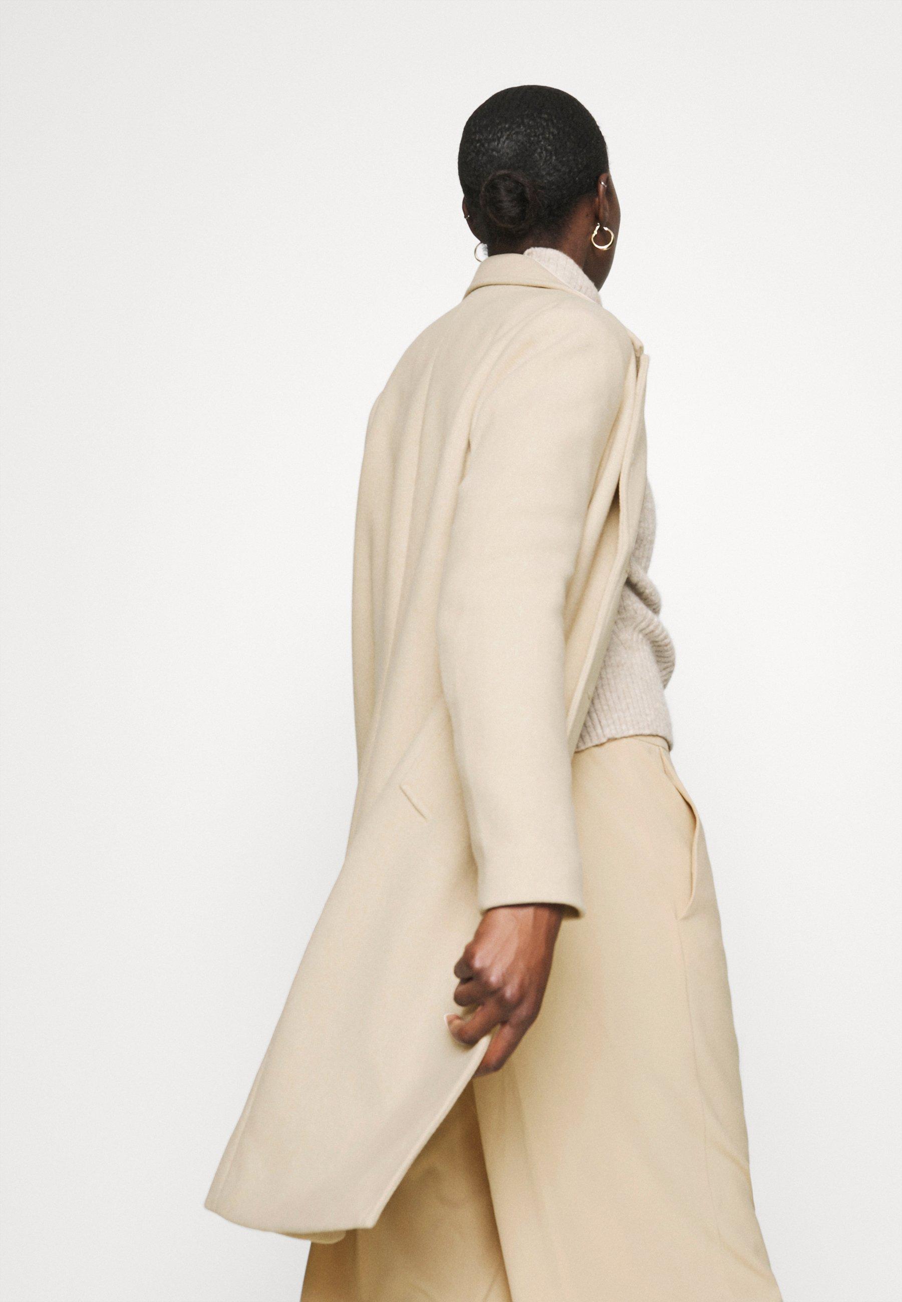 Abercrombie & Fitch Dad Coat - Kåpe / Frakk Creamy Khaki/beige