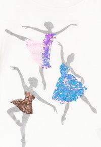 GAP - GIRLS - Triko spotiskem - new off white - 2