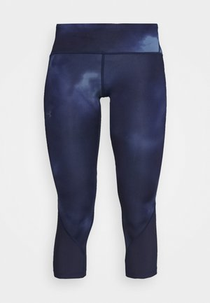 FLY FAST HEATGEAR CROP - Leggings - midnight navy