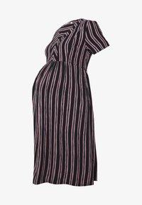 Queen Mum - DRESS NURS ORLANDO - Korte jurk - black - 4