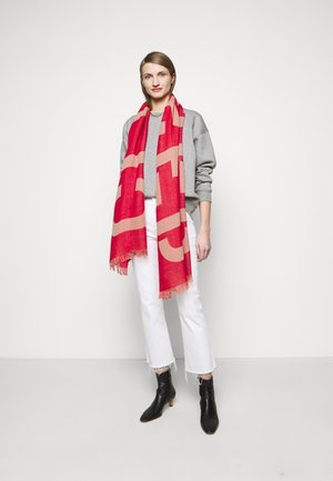 Scarf - amaranth red