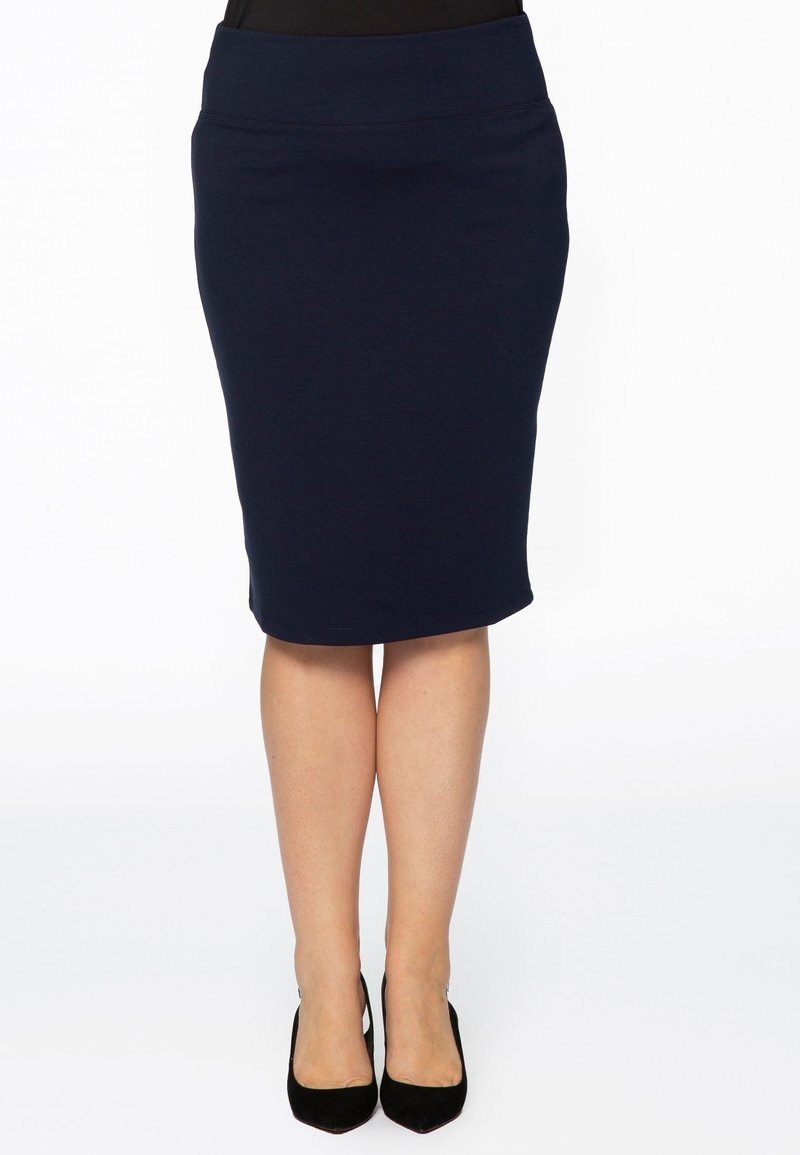 Yoek - Pencil skirt - blue