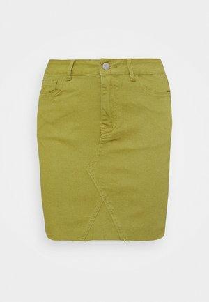 VIINES SHORT SKIRT - Mini skirt - green olive