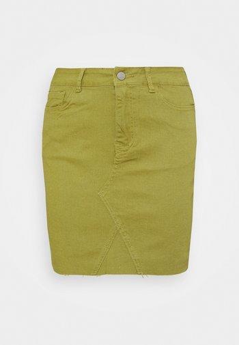 VIINES SHORT SKIRT - Minigonna - green olive