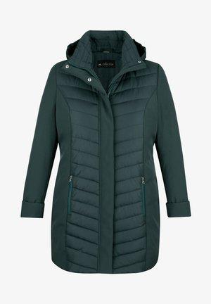 Winter jacket - flaschengrün