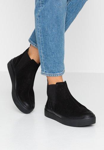 ZOE PLATFORM - Kotníková obuv - black