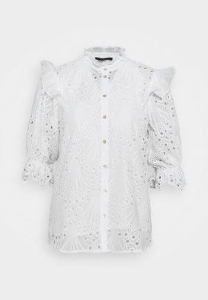 PEACOCK CAROLA - Blouse - white