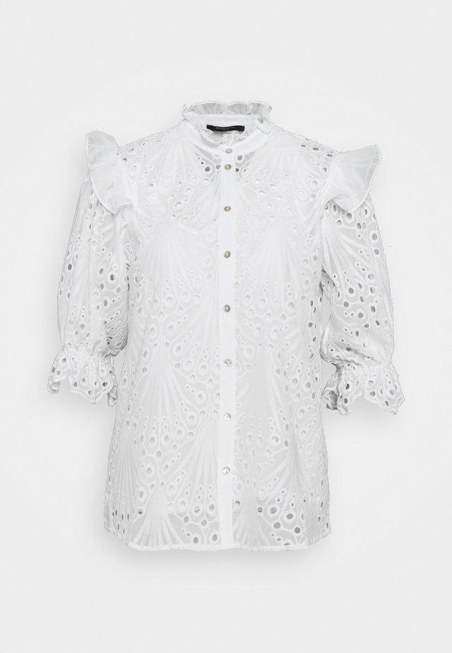 PEACOCK CAROLA - Blouse - white