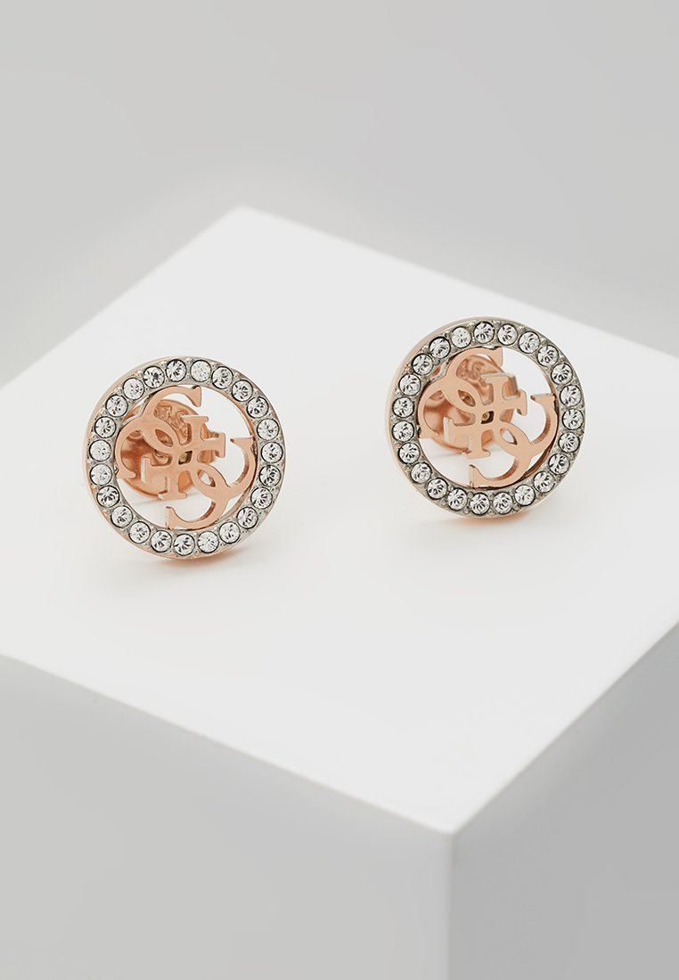 Guess - TROPICAL SUN - Earrings - rose gold-coloured