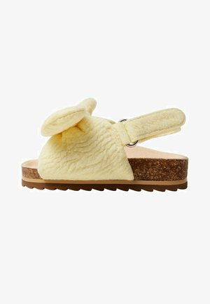 Sandalen - light yellow