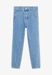 Mango - SLOUCHY - Jeans Straight Leg - middenblauw - 0
