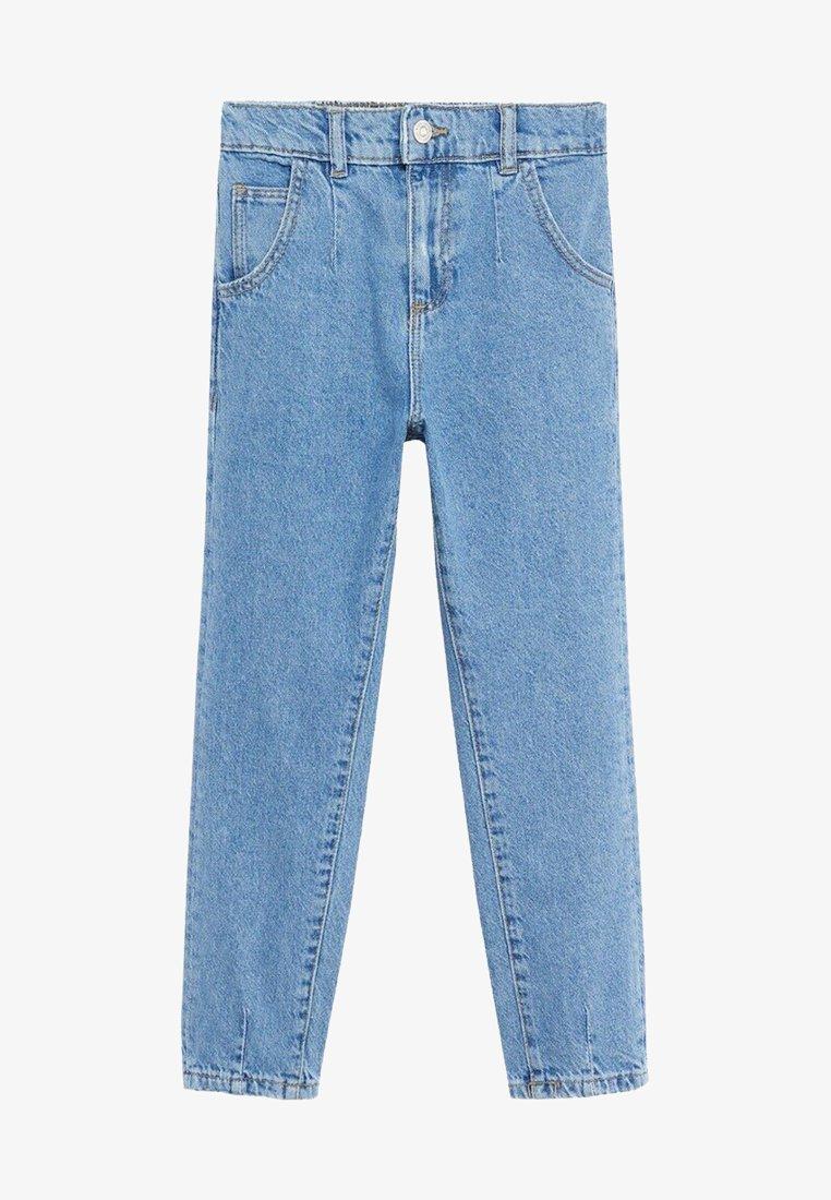 Mango - SLOUCHY - Jeans Straight Leg - middenblauw