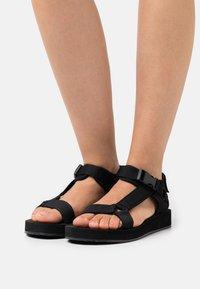 Selected Femme - Sandales - black - 0