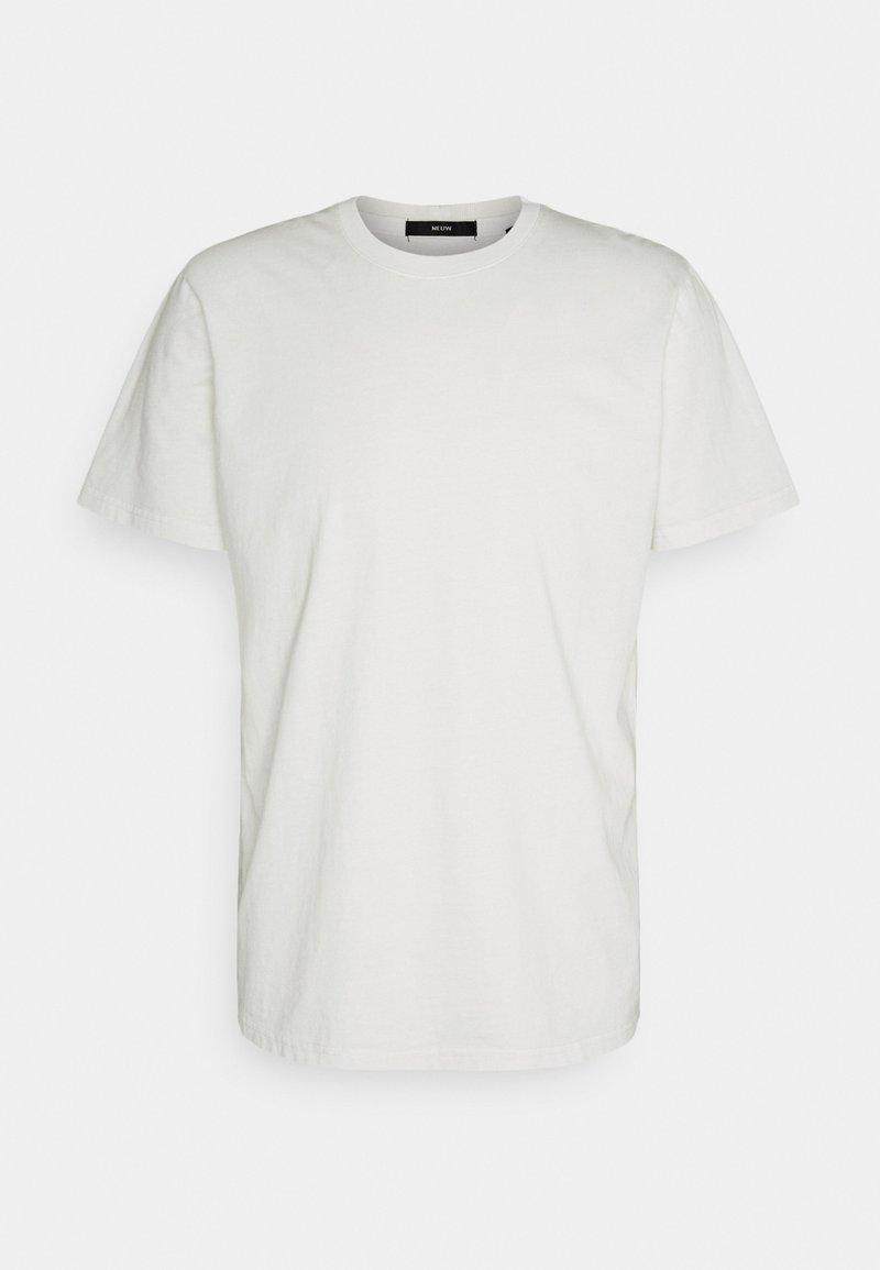 Neuw - BAND TEE - Jednoduché triko - off white