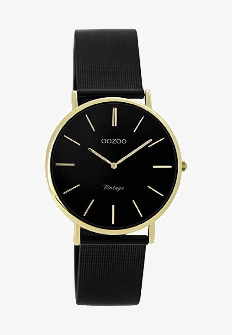 OOZOO - MILANAISE-UHR - Watch - schwarz
