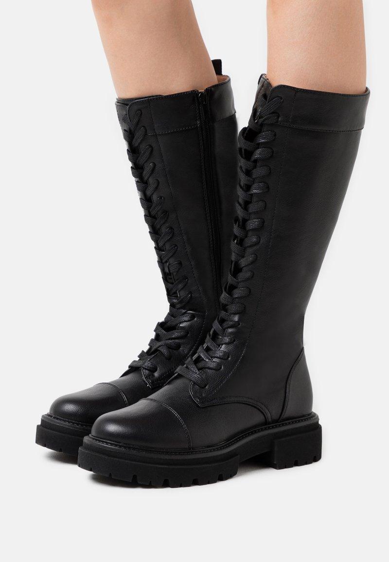 Even&Odd - Platform boots - black
