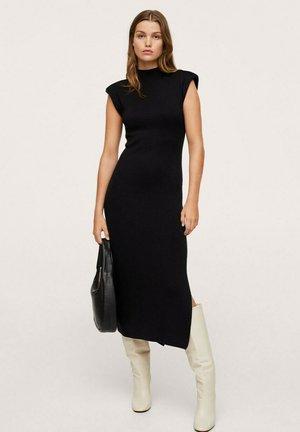 MET UITSNIJDING - Robe pull - zwart