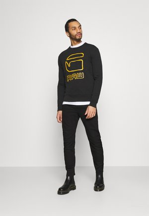 GRAPHIC GRAW R SW L\S - Sweatshirt - dark black