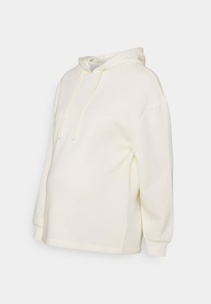 PCMCHILLI HOODIE - Sweater - white pepper