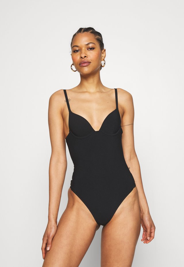 GISELE PUSH ONE PIECE - Badpak - noir