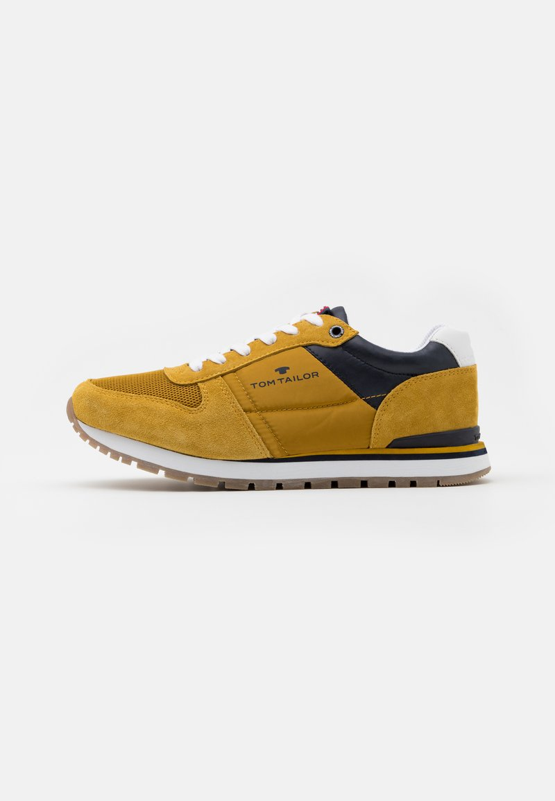 TOM TAILOR - Sneakers - yellow
