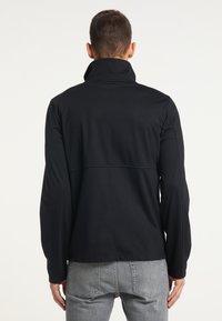 TUFFSKULL - Zip-up hoodie - schwarz - 2