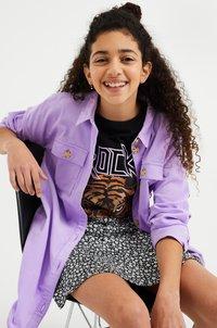 WE Fashion - CORDUROY - Overhemdblouse - lilac - 1