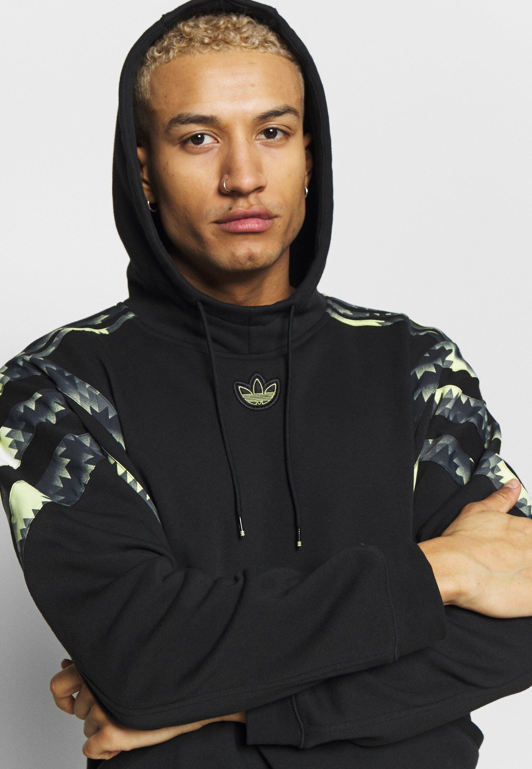 adidas Originals FOOTBALL HOODIE - Sweat à capuche - black