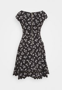 kate spade new york - NERISSA FLORAL PONTE DRESS - Jersey dress - black