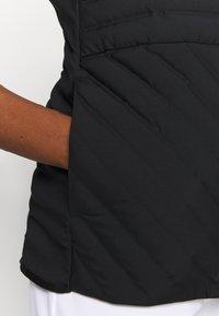 adidas Golf - PERFORMANCE SPORTS GOLF FILLED VEST - Vesta - black - 4