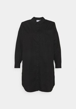 VMPERCEY OVERSIZE SHIRT - Blouse - black