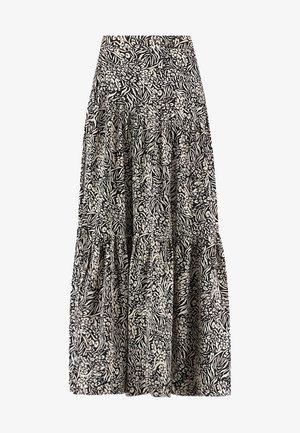 Pleated skirt - black dessin