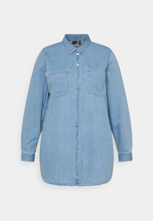 VMMILA LONG  - Button-down blouse - light blue