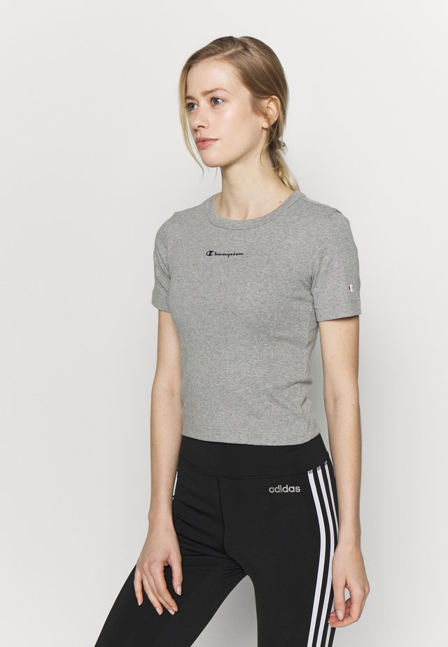 CREWNECK - Jednoduché triko - dark grey