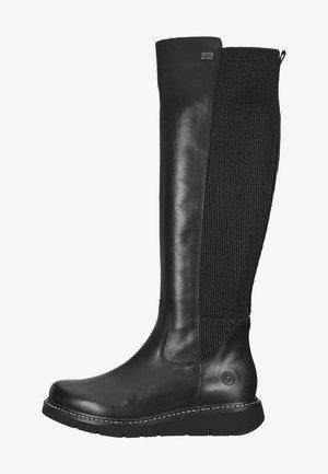Kowbojki i obuwie motocyklowe - schwarz/schwarz