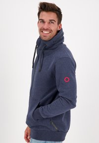 alife & kickin - ELIASAK A - Zip-up hoodie - marine - 3