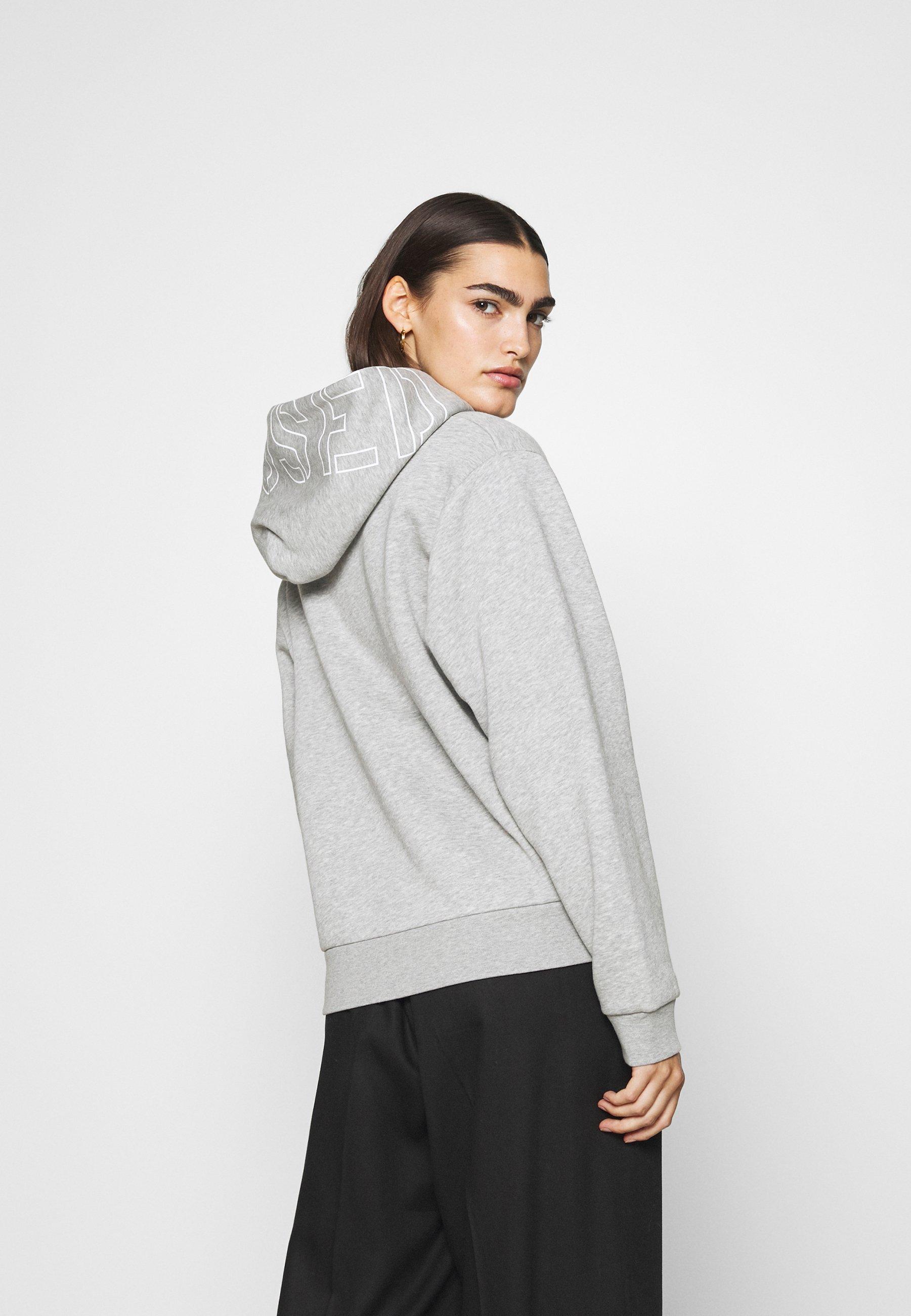 Closed Hoodie - Light Grey Melange/lysgrå