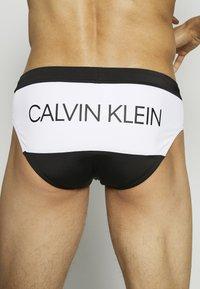 Calvin Klein Swimwear - BRIEF - Costume da bagno - black - 2